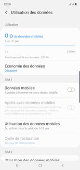 Samsung Galaxy Note 10 - Internet et roaming de données - Comment vérifier que la connexion des données est activée - Étape 6