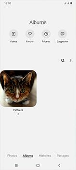Samsung Galaxy A41 - Photos, vidéos, musique - Envoyer une photo via Bluetooth - Étape 6