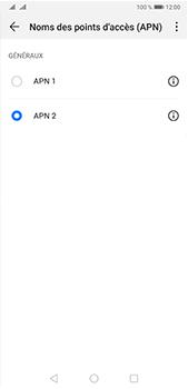 Huawei P20 Pro - Android Pie - Internet et roaming de données - Configuration manuelle - Étape 17