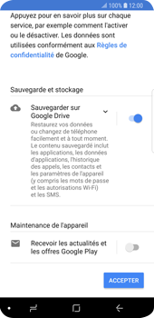 Samsung Galaxy S9 - Applications - Configuration de votre store d