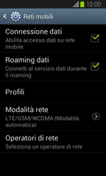 Samsung Galaxy Express - Internet e roaming dati - Disattivazione del roaming dati - Fase 6