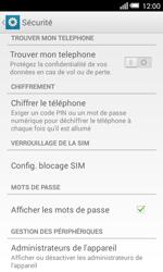 Alcatel OT-5050X Pop S3 - Sécuriser votre mobile - Personnaliser le code PIN de votre carte SIM - Étape 5