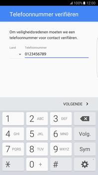 Samsung Samsung Galaxy S6 Edge+ (Android M) - apps - account instellen - stap 8