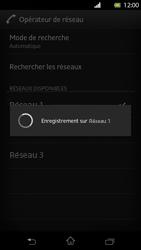 Sony Xperia T - Réseau - Sélection manuelle du réseau - Étape 9