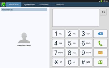 Samsung P5220 Galaxy Tab 3 10-1 LTE - Voicemail - Handmatig instellen - Stap 4