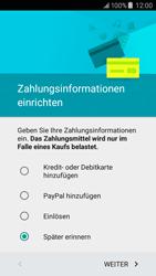 Samsung Galaxy J5 - Apps - Konto anlegen und einrichten - 18 / 20