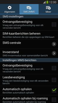 Samsung N9005 Galaxy Note III LTE - SMS - SMS-centrale instellen - Stap 9