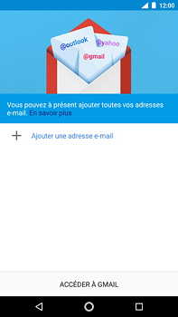 Nokia 6 (2018) - E-mail - Configuration manuelle (outlook) - Étape 5