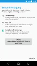 Sony Xperia Z5 (E6653) - Android Nougat - E-Mail - Konto einrichten - Schritt 20