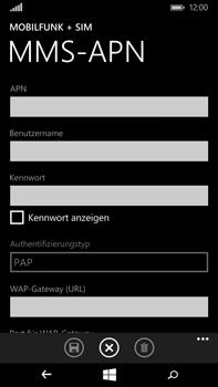 Microsoft Lumia 640 XL - MMS - Manuelle Konfiguration - Schritt 8