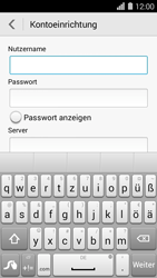 Huawei Ascend Y550 - E-Mail - Konto einrichten - Schritt 9