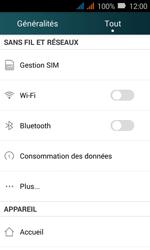 Huawei Y3 - Réseau - Changer mode réseau - Étape 3