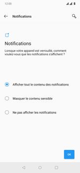 OnePlus 7 Pro - Sécuriser votre mobile - Activer le code de verrouillage - Étape 11