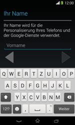 Sony Xperia E1 - Apps - Konto anlegen und einrichten - 5 / 23
