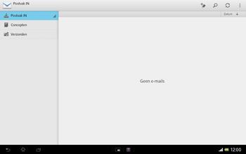 Sony SGP321 Xperia Tablet Z LTE - E-mail - e-mail instellen: IMAP (aanbevolen) - Stap 4