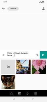 OnePlus 7 - Contact, Appels, SMS/MMS - Envoyer un MMS - Étape 10