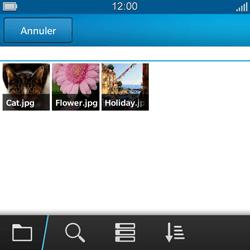 BlackBerry Q5 - MMS - envoi d'images - Étape 10