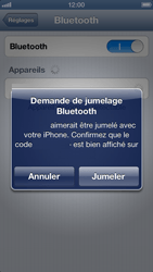 Apple iPhone 5 - Bluetooth - Jumelage d
