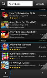 BlackBerry Z10 - Applicazioni - Configurazione del negozio applicazioni - Fase 6