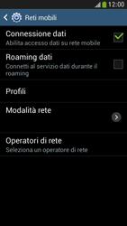 Samsung Galaxy S 4 Mini LTE - Internet e roaming dati - Disattivazione del roaming dati - Fase 7