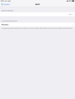 Apple iPad 9.7 (2018) iOS12 - E-mail - Configurer l