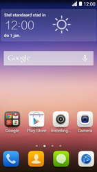 Huawei Ascend Y550 - apps - account instellen - stap 2