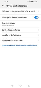 Huawei Y6 (2019) - Sécurité - modifier SIM PIN - Étape 6
