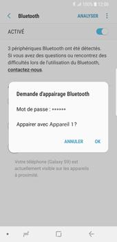 Samsung Galaxy S9 - Bluetooth - Jumelage d