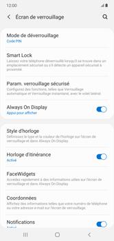 Samsung Galaxy Note 10+ - Sécuriser votre mobile - Activer le code de verrouillage - Étape 13