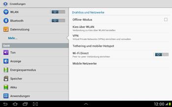 Samsung Galaxy Tab 2 10.1 - Internet und Datenroaming - Manuelle Konfiguration - Schritt 5