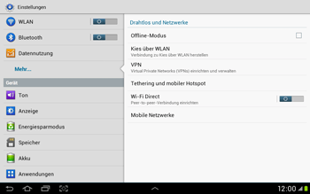 Samsung Galaxy Tab 2 10.1 - MMS - Manuelle Konfiguration - Schritt 5