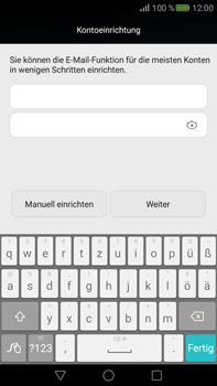 Huawei Mate S - E-Mail - Konto einrichten - Schritt 6
