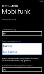 Nokia Lumia 925 - Ausland - Im Ausland surfen – Datenroaming - Schritt 8