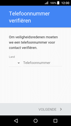 Acer Liquid Z320 - Applicaties - account instellen - Stap 7