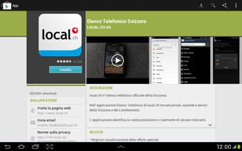 Samsung Galaxy Tab 2 10.1 - Applicazioni - Installazione delle applicazioni - Fase 7