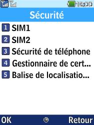LG G359 - Sécuriser votre mobile - Personnaliser le code PIN de votre carte SIM - Étape 6