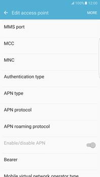 Samsung Samsung G928 Galaxy S6 Edge + (Android M) - Internet - Manual configuration - Step 12