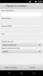 Sony Xperia T - E-mail - Configuration manuelle - Étape 8