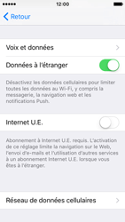 Apple iPhone SE - Internet - désactivation du roaming de données - Étape 5