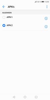 Huawei P Smart - Internet - Handmatig instellen - Stap 17