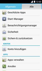 Huawei Ascend Y330 - Fehlerbehebung - Handy zurücksetzen - 2 / 2