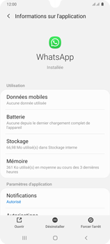 Samsung Galaxy A31 - Applications - Supprimer une application - Étape 6