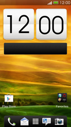HTC One X - Getting started - Installing widgets and applications on your start screen - Step 1