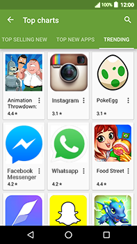 Acer Liquid Zest 4G Plus - Applications - Download apps - Step 15