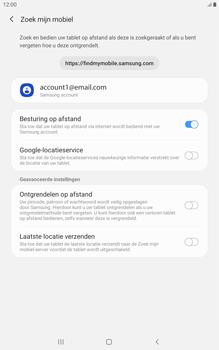 Samsung galaxy-tab-a-8-0-lte-2019-sm-t295 - Beveiliging en ouderlijk toezicht - Zoek mijn mobiel inschakelen - Stap 7