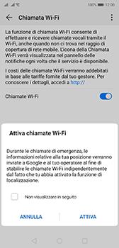 Huawei P20 - Android Pie - WiFi - Attivare WiFi Calling - Fase 8