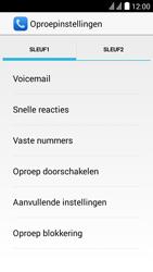 Huawei Y625 - Voicemail - handmatig instellen - Stap 7