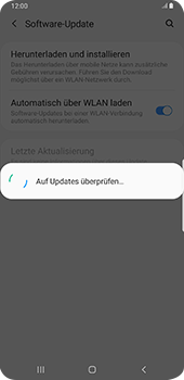 Samsung Galaxy S9 Plus - Android Pie - Software - Installieren von Software-Updates - Schritt 7