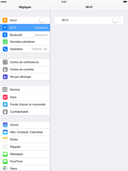 Apple iPad Air - WiFi - Configuration du WiFi - Étape 4