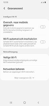 Samsung Galaxy A20e - wifi - schakel Wi-Fi Assistentie uit - stap 11